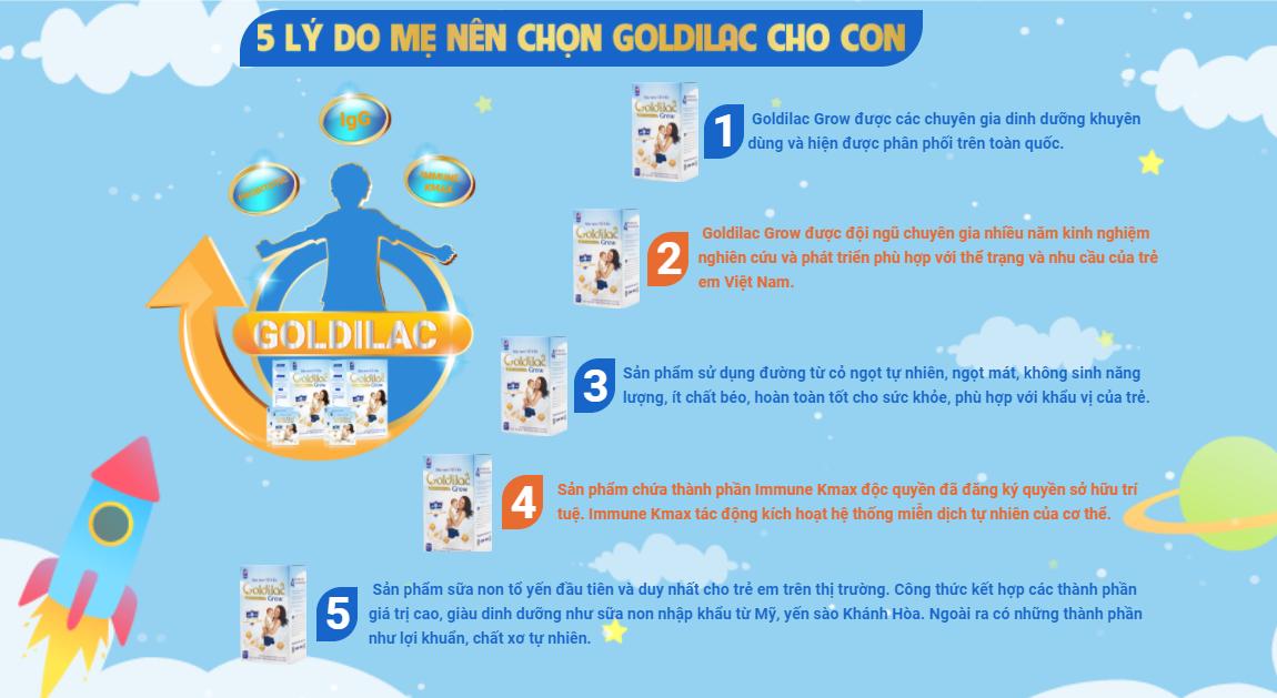 Sữa non Goldilac có tốt không